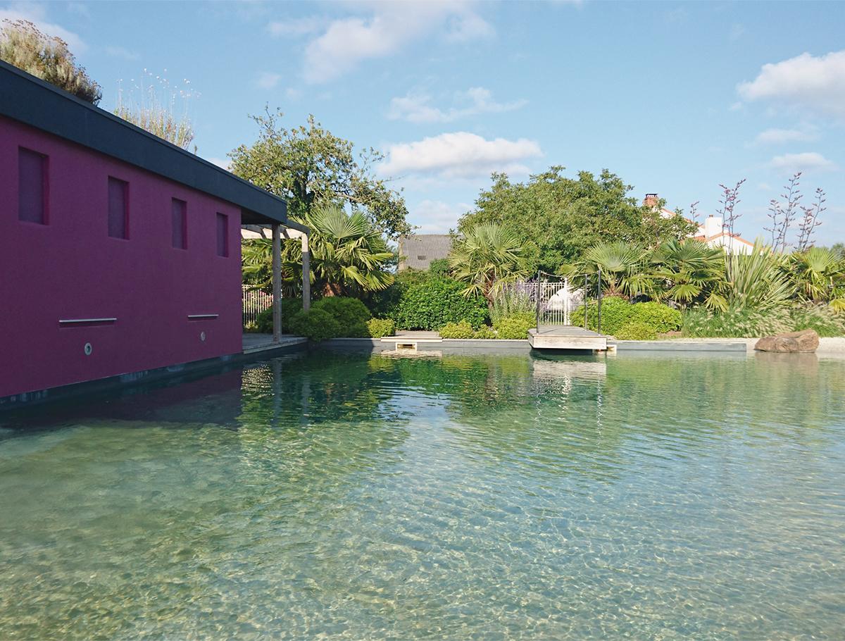 Bassin de baignade naturelle - Vendée -