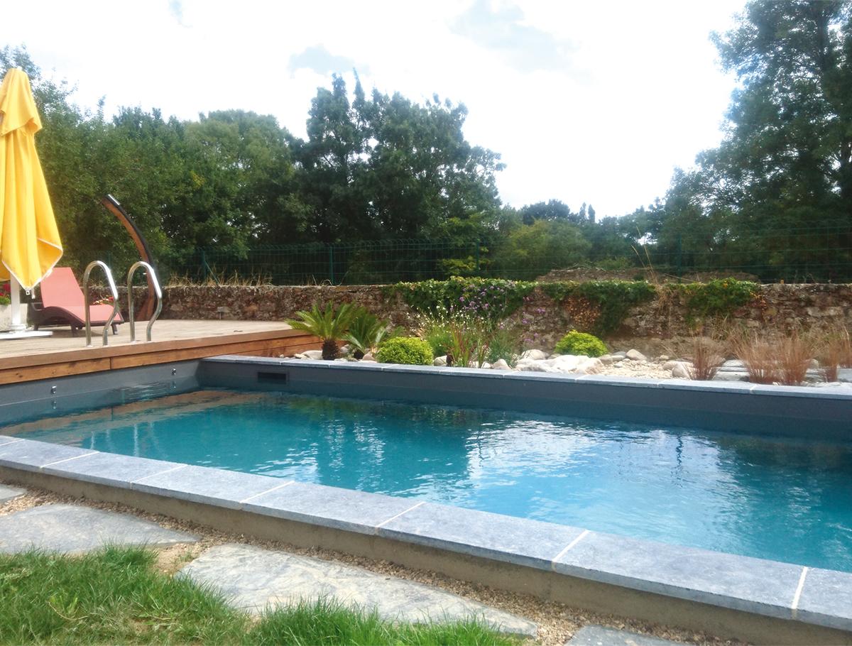 Piscine naturelle, une eau douce pour votre peau - Loire Atlantique -