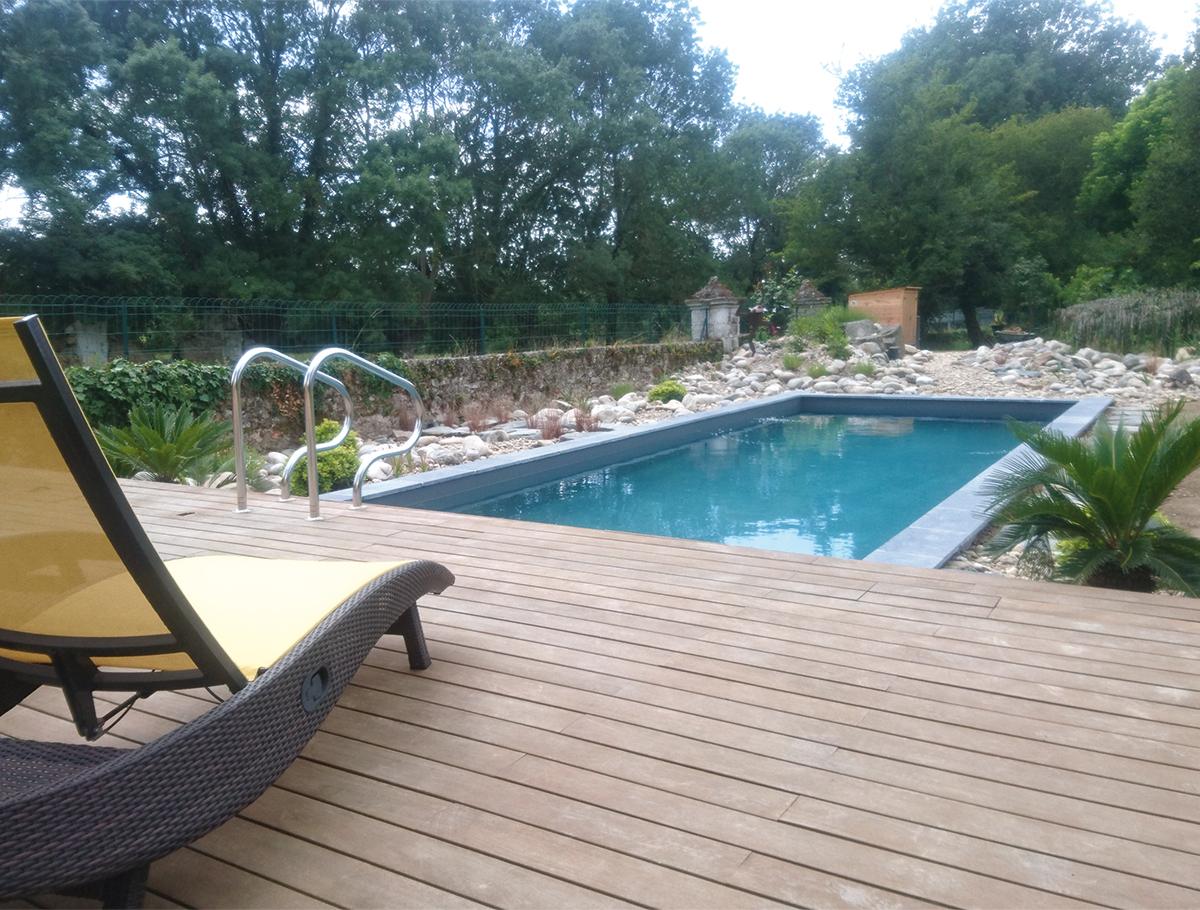 Piscine naturelle, le choix d'une baignade sans chlore - Loire Atlantique