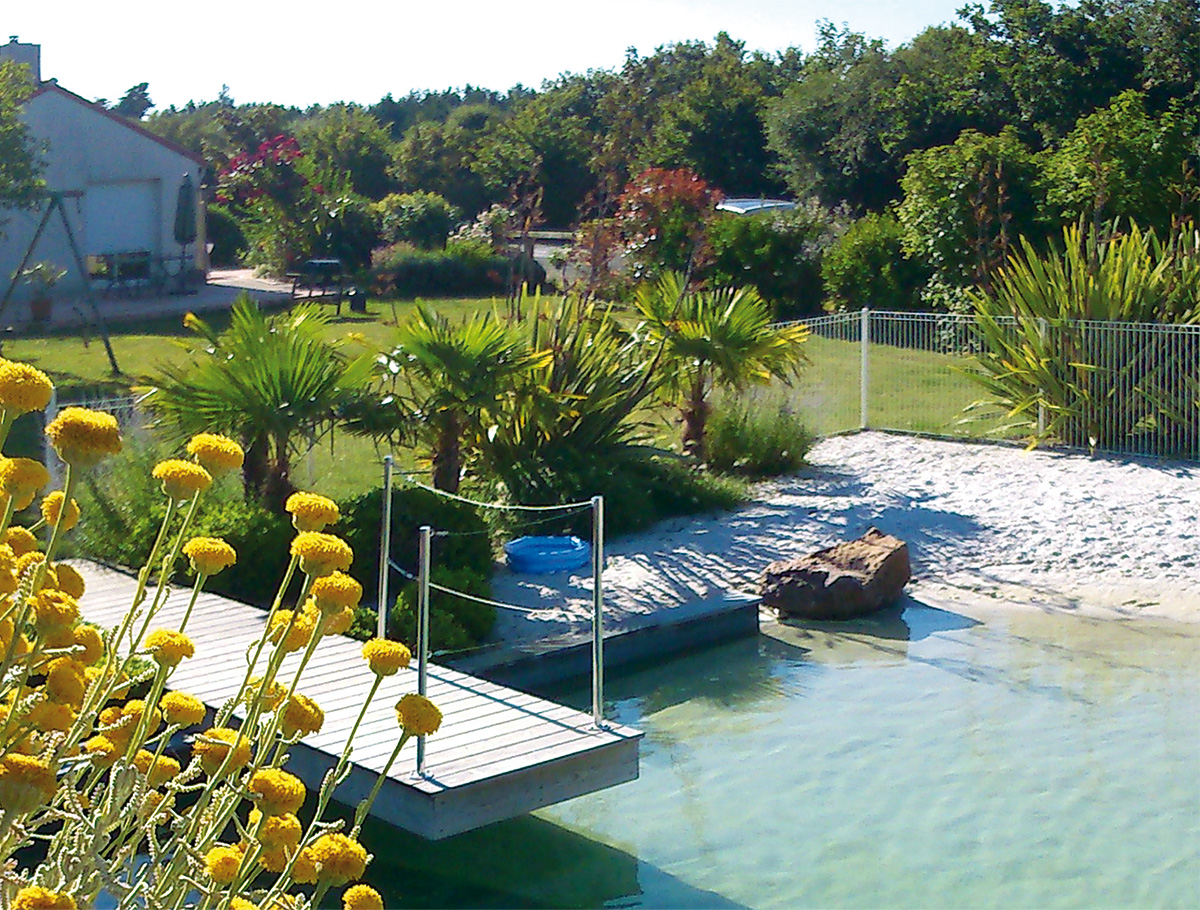 Ponton d'accès - Vendée -
